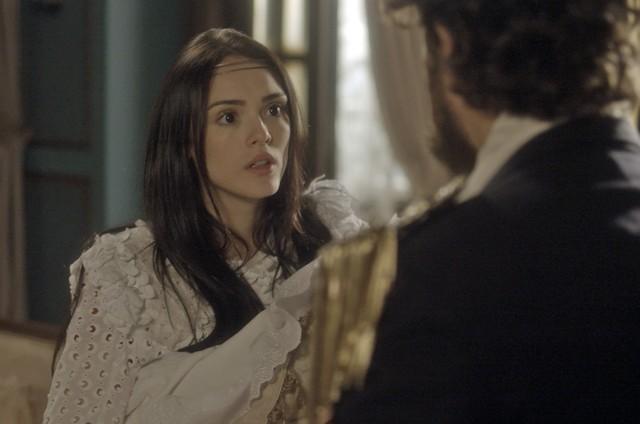 Isabelle Drummond, a Anna de 'Novo Mundo' (Foto: TV Globo)