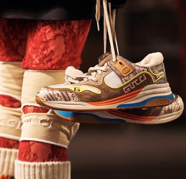 8bb72b2fe7c6b Gucci apresenta sua nova versão para os ugly sneakers - Vogue
