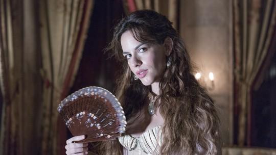 Luisa Micheletti exalta papel de Caio Castro, seu par em 'Novo Mundo': 'Cheio de carisma e magnetismo!'