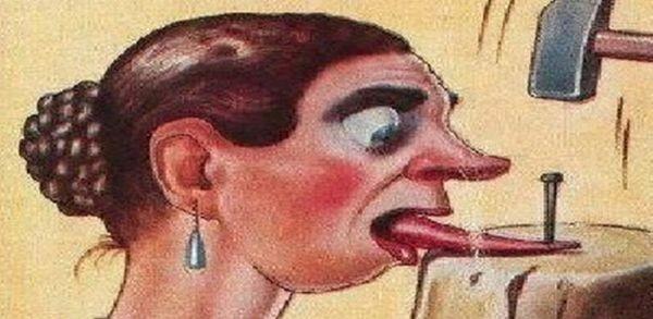 Resultado de imagem para controle sua língua fofoqueiras
