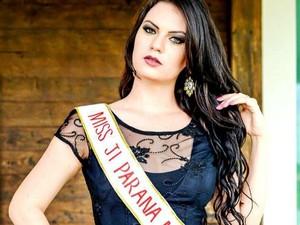 Letícia Cappatto representou a cidade de Ji-Paraná, RO (Foto: Facebook/Reprodução)