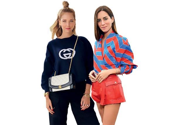 Gala Gonzales e Chiara Ferragni (Foto: Divulgação)