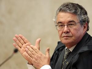 O ministro do STF, Marco Aurélio Mello (Foto: Carlos Humberto/SCO/STF)