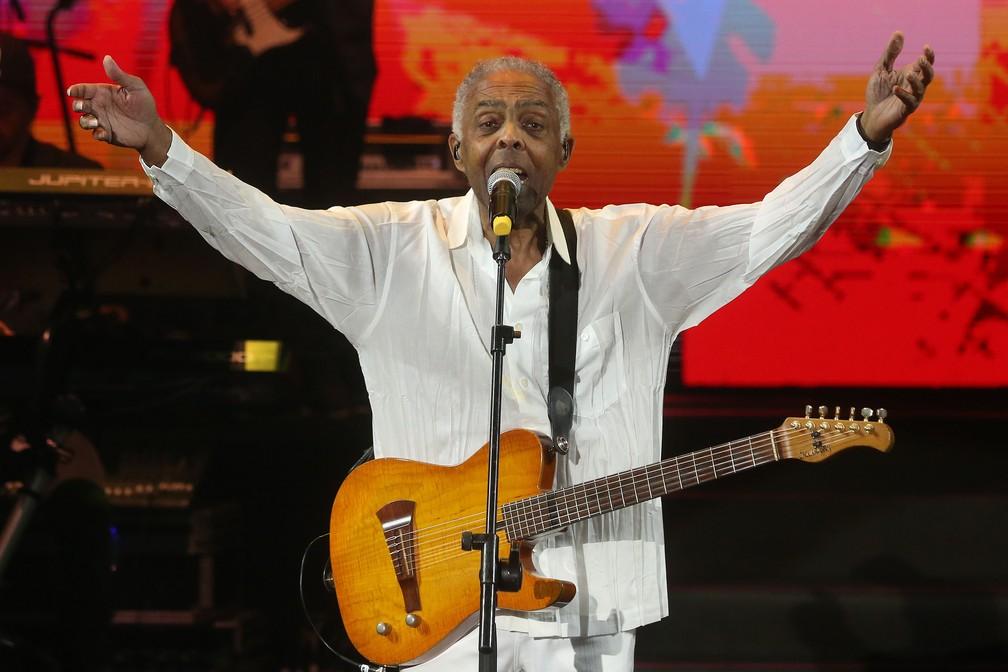 -  Gilberto Gil fará show na abertura da Casa do Brasil na Rússia nesta quinta  14 .  Foto: Divulgação