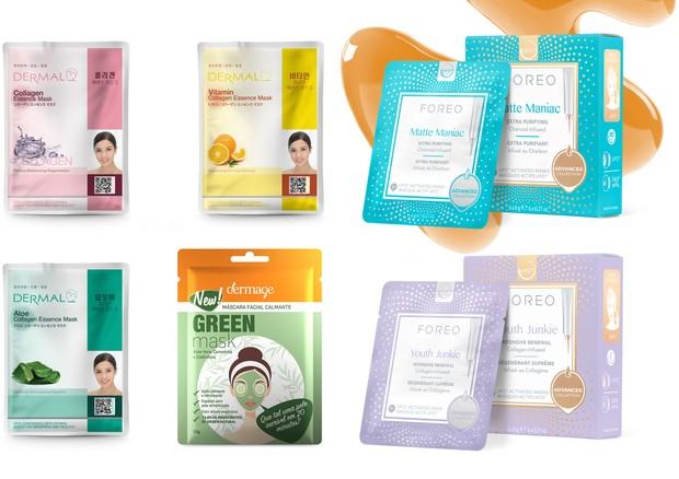 Novas máscaras faciais para dar um boost na pele  (Foto: Divulgação)