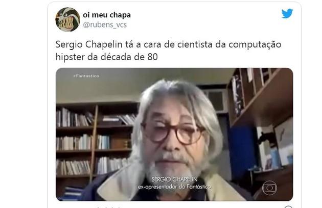 Sergio Chapelin teve o nome nos Trending Topics do Twitter e está na lista de mais buscados do Google (Foto: Reprodução)