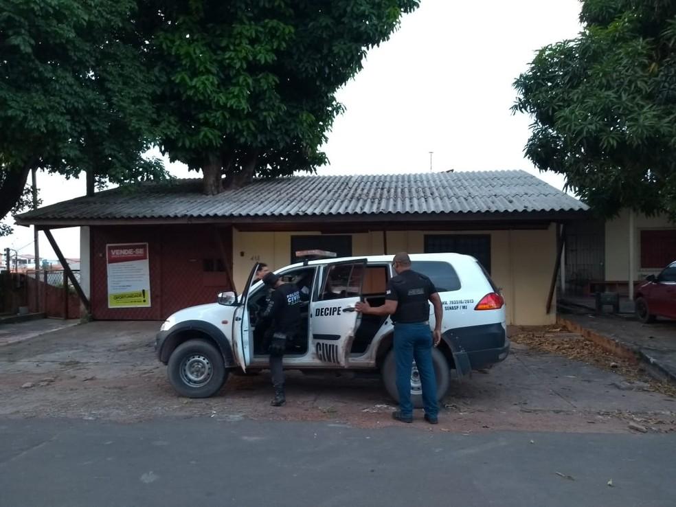 Ações aconteceram em Macapá nesta segunda-feira (6) (Foto: Polícia Civil/Divulgação)