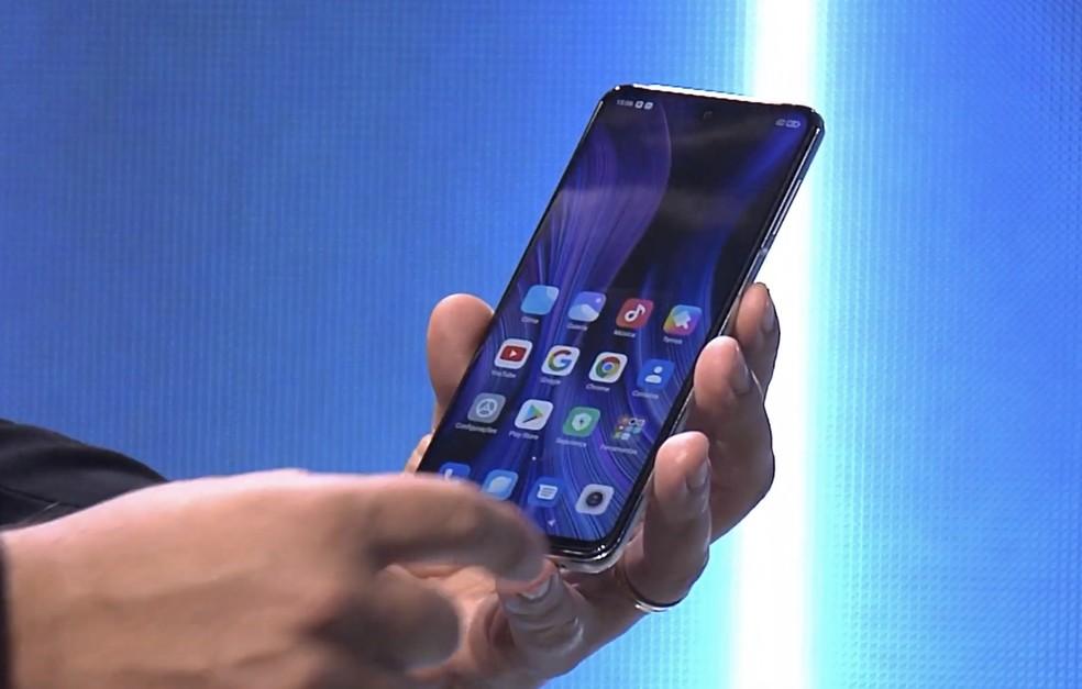 Redmi Note 9 Pro é apresentado em evento da Xiaomi e da DL Eletrônicos — Foto: Reprodução/Xiaomi
