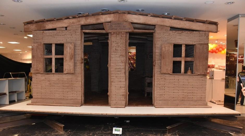 Casa foi construída para feira em Uberaba (MG) (Foto: Divulgação)