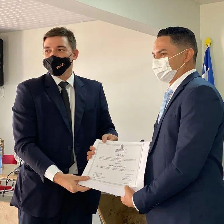 Prefeito de Juazeiro do Piauí eleito em eleição suplementar é diplomado pelo TRE-PI; posse acontece em 1 de novembro