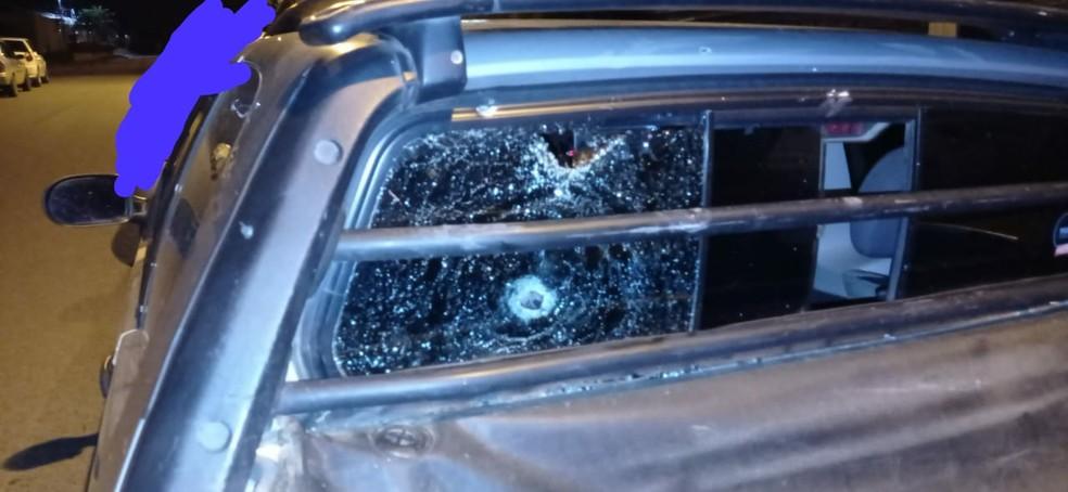 Adolescente levou tiro de raspão — Foto: Polícia Militar/Divulgação