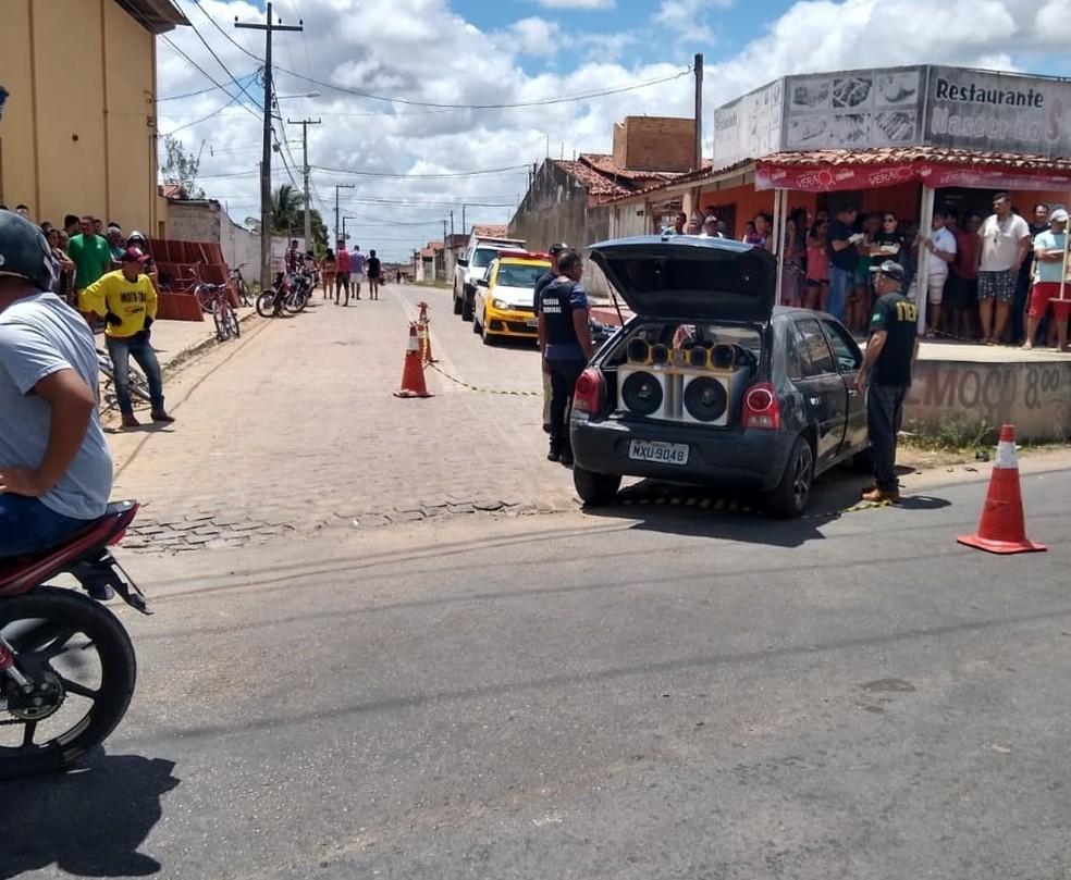 Motociclista morreu em acidente em Parnamirim, na Grande Natal — Foto: CPRE/Divulgação