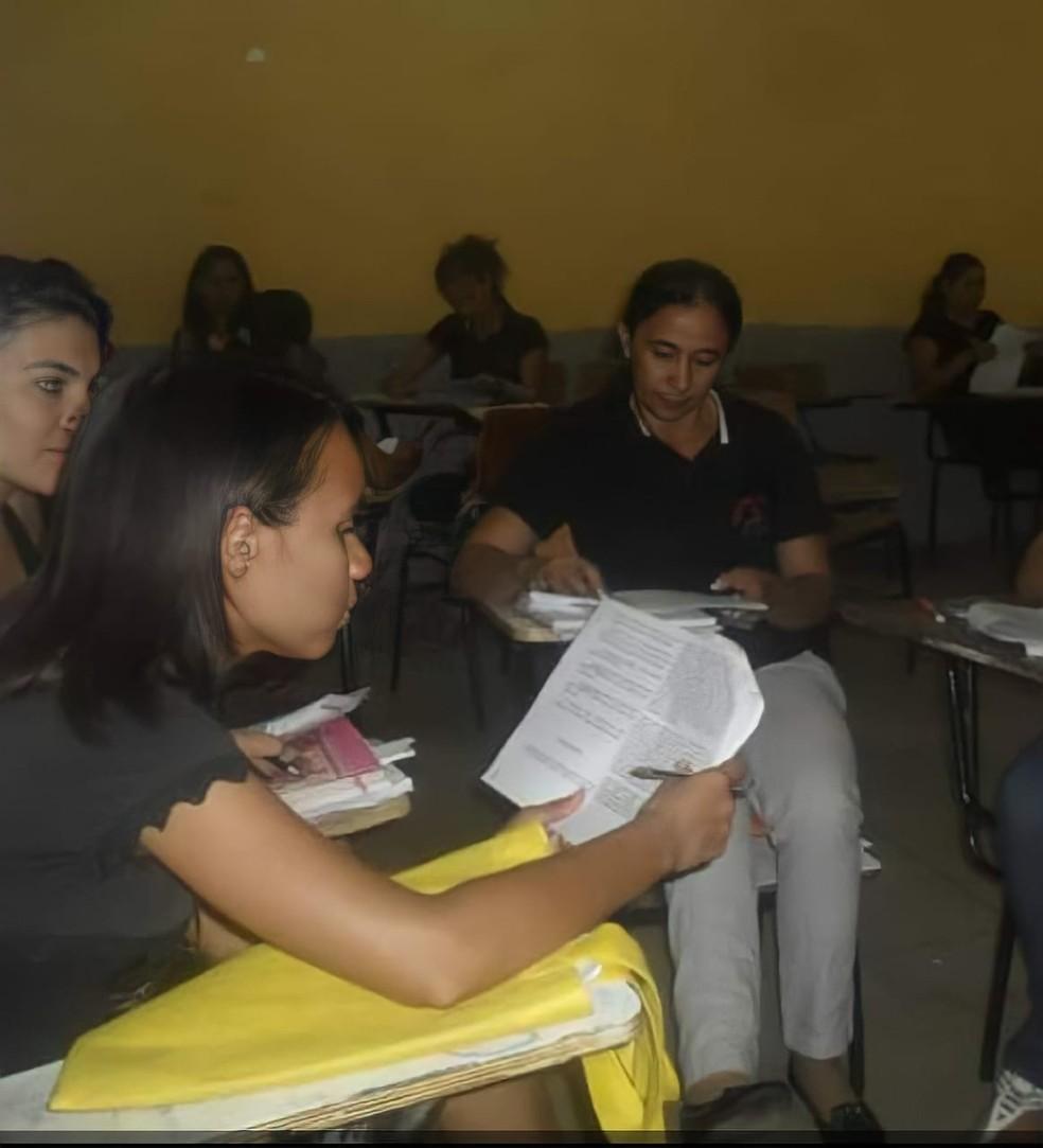 Joana já foi provada em Ciências Biológicas (2014) e Gestão ambiental (2017), no Instituto Federal do Piauí (IFPI) — Foto: Arquivo Pessoal