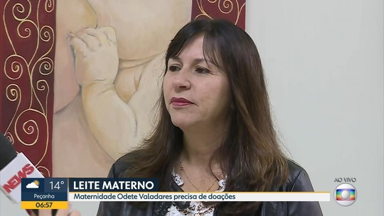 Maternidade Odete Valadares faz campanha para doação de leite materno