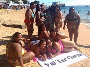 Movimento 'Vai ter gorda' surgiu em 2016, na Bahia (Foto: Maiana Belo / G1 BA)
