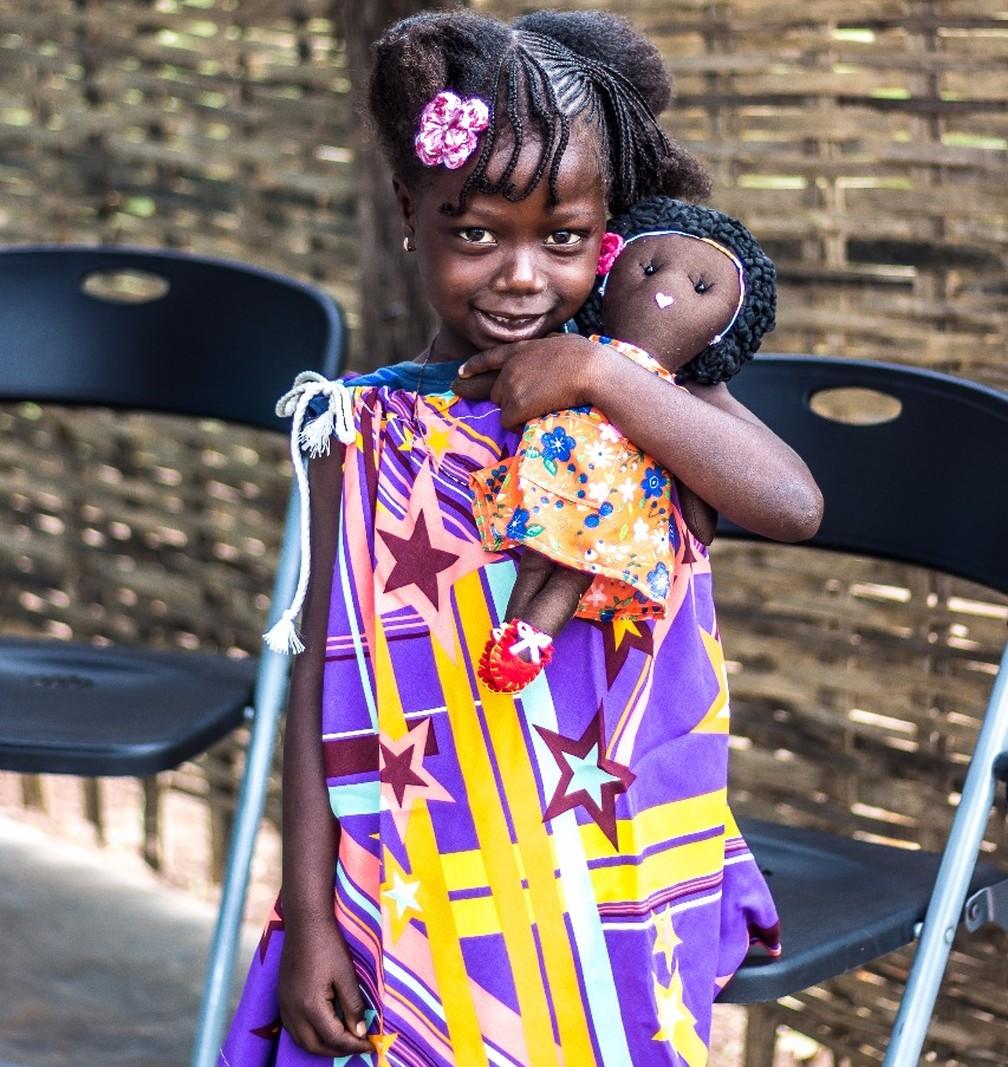 Bonecas também auxiliam no combate à depressão infantil (Foto: Arquivo Pessoal)