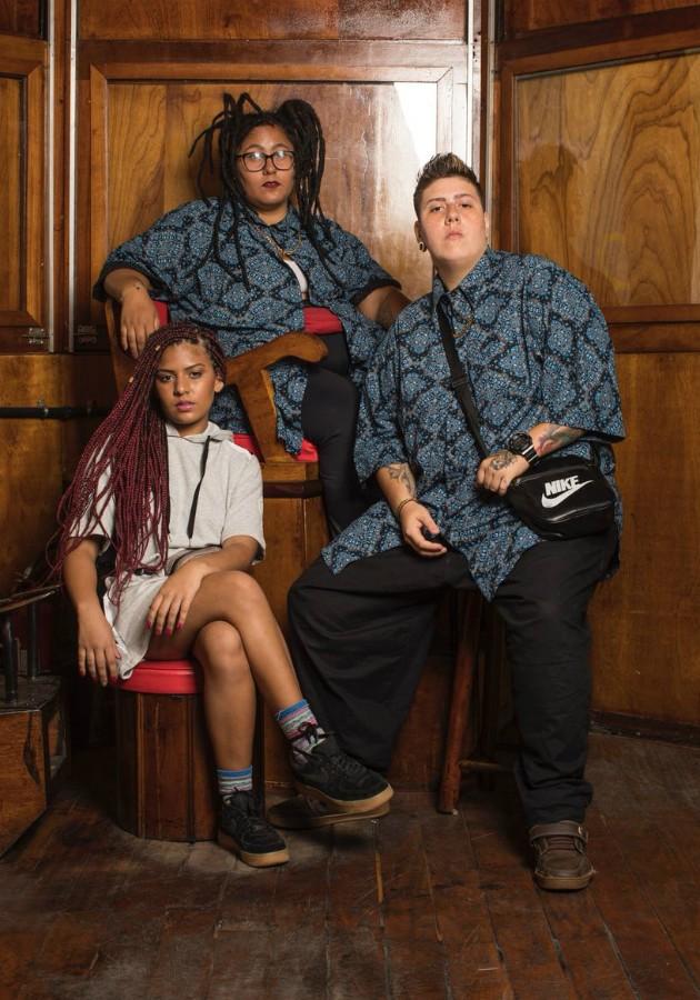 As meninas do rap: Sara Donato, Isa Paes e Dj Sofia (Foto: Marie Claire / Julia Rodrigues)