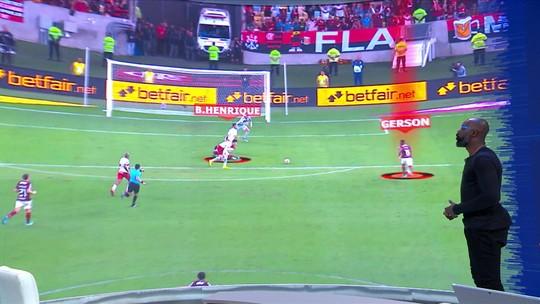 """Grafite analisa movimentação do Flamengo no primeiro gol e exalta Bruno Henrique: """"Fase iluminada"""""""
