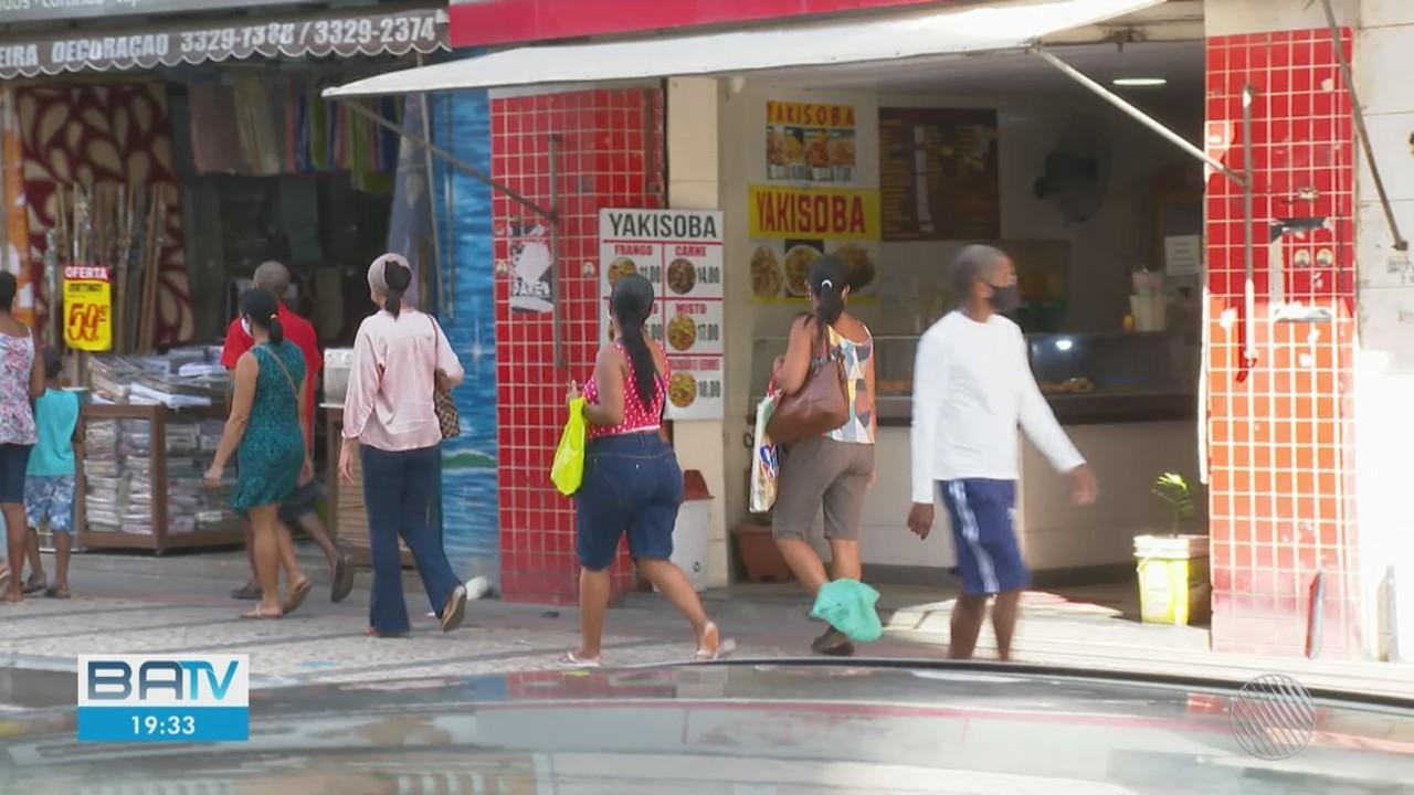 Comércio na Bahia tem aumento de venda desde o mês de agosto segundo IBGE