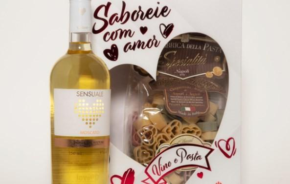O kit da Casa Flora: macarrão e vinho italianos