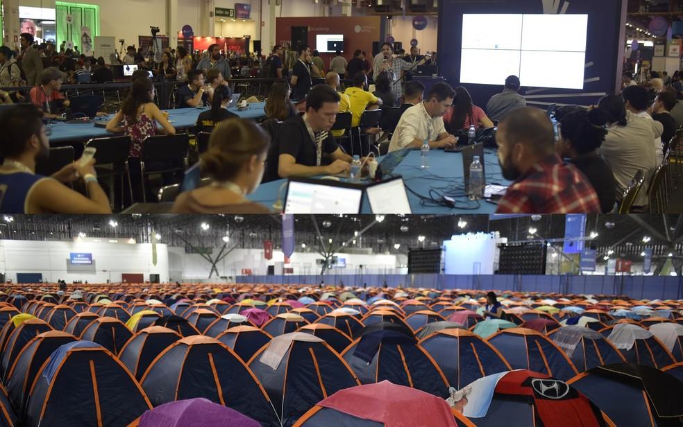 Evento com área de camping e mais de 250 atividades durante cinco dias no Shopping Passeio das Águas, em Goiânia  — Foto: Virta Comunicação/Divulgação