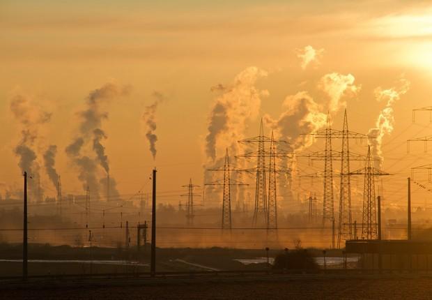 aquecimento global, poluição do ar (Foto: Pexels)