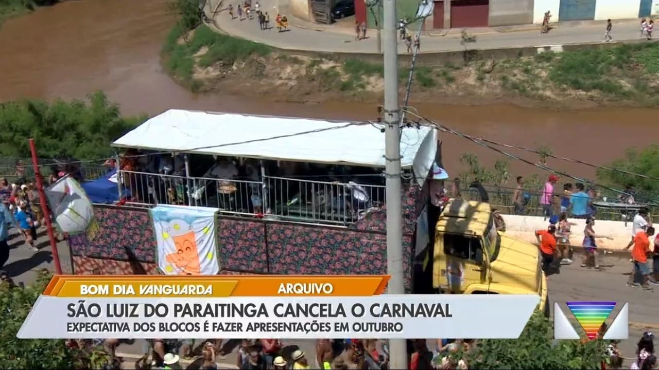 São Luiz do Paraitinga cancela carnaval de marchinhas