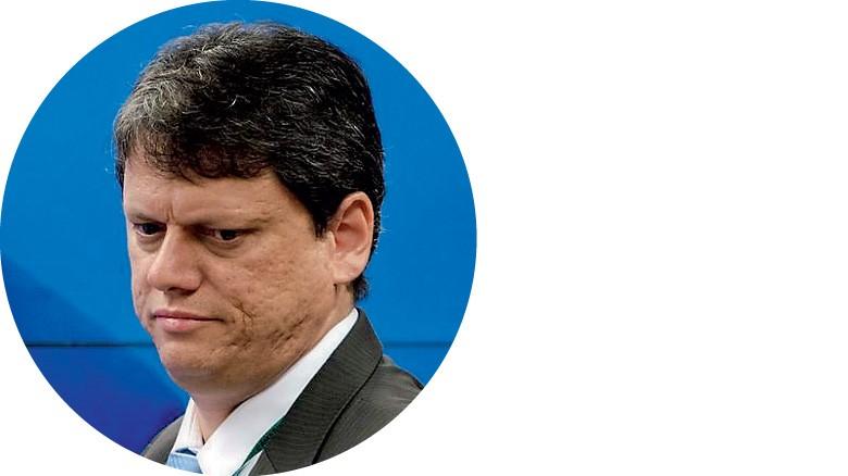 Tarcísio Freitas, ministro da Infraestrutura  (Foto: Agência O Globo)