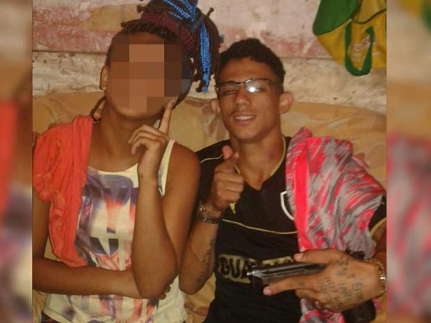 Jefferson André Silva Marques, o 'Pai', foi apontado pelapolícia como líder de quadrilha de assaltantes (Foto: Divulgação/Polícia Civil)