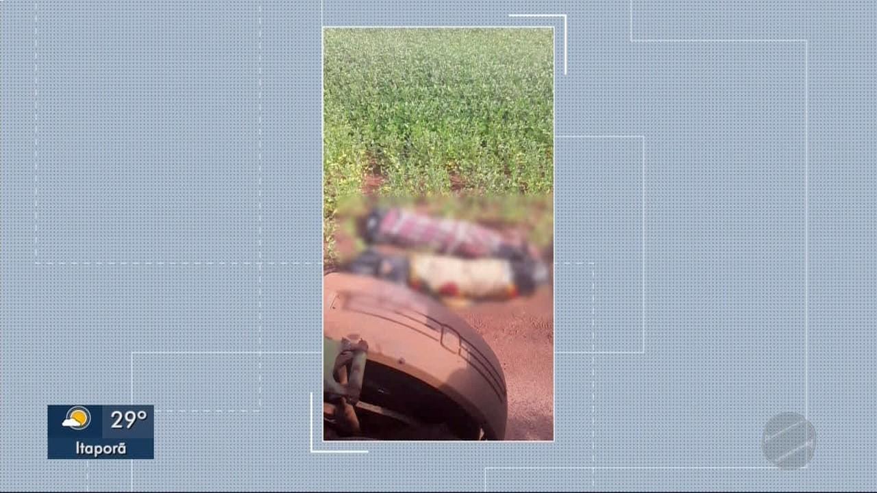 Dois corpos são encontrados embrulhados em Aral Moreira