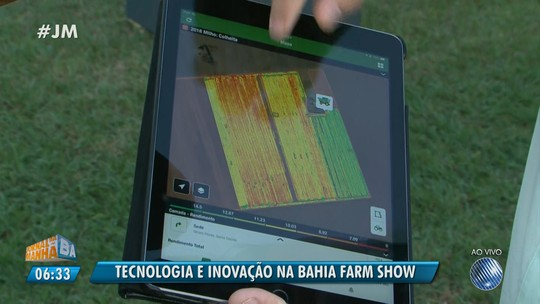 Bahia Farm Show: agricultores monitoram lavouras por tablets e celular