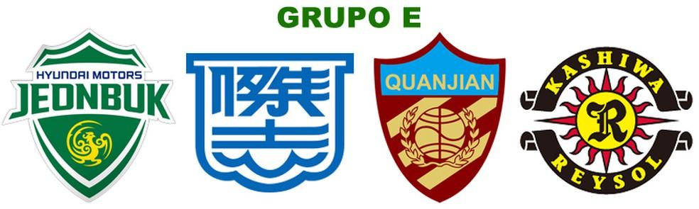 Grupo E: Jeonbuk Hyundai Motors, Kitchee, Tianjin Quanjian e Kashiwa Reysol (Foto: Futebol no Japão)
