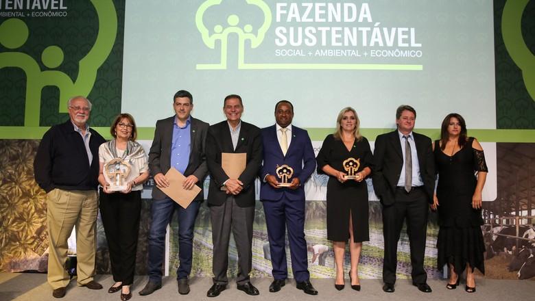 vencedores-premio-fazenda-sustentavel-2018 (Foto: Alexandre DiPaula)