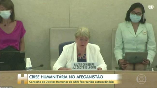 O Conselho de Direitos Humanos da ONU se reúne para falar sobre a situação no Afeganistão