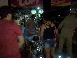 Foragido é capturado na fronteira entre Brasil e Bolívia, durante a prisão ele levou um tiro na perna (Foto: Portal Guajará / Divulgação )