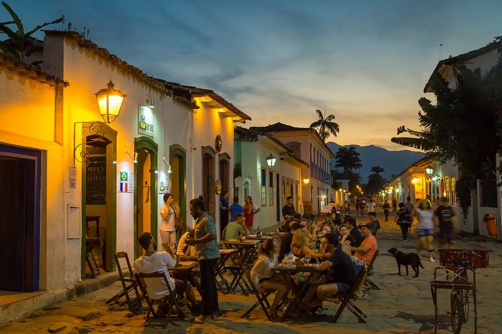 Centro Histórico — Foto: Prefeitura de Paraty