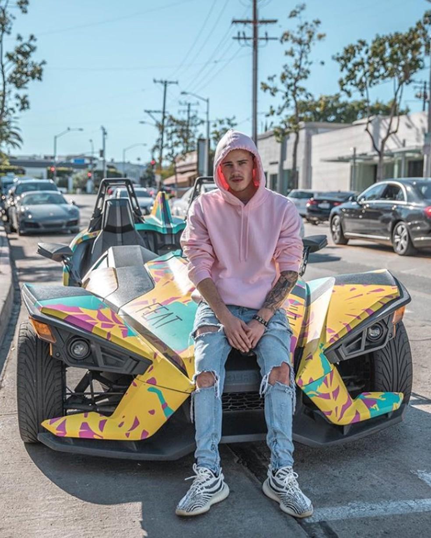 Brad Sousa, sósia de Justin Bieber, em foto publicada no Instagram — Foto: Reprodução/Instagram/Brad Sousa