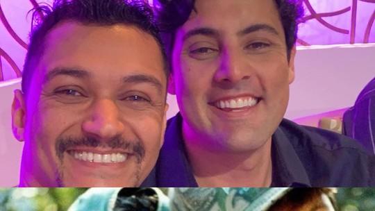 Bruno De Luca reencontra, 24 anos depois, amigo da primeira temporada de 'Malhação'