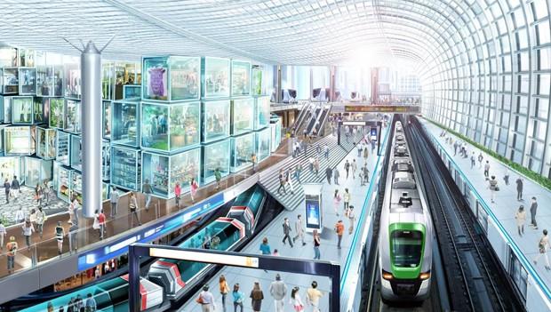 """Projeto para estação em Osaka tem prédio em formato de """"disco voador"""" (Foto: reprodução)"""