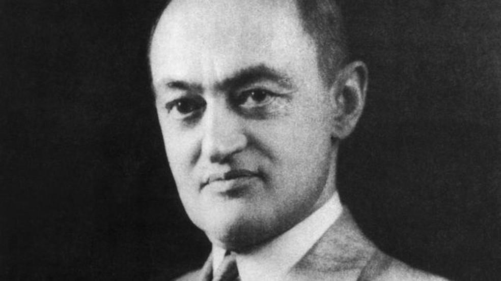 Joseph Schumpeter nasceu em 1883 e morreu em 1950 — Foto: Getty Images