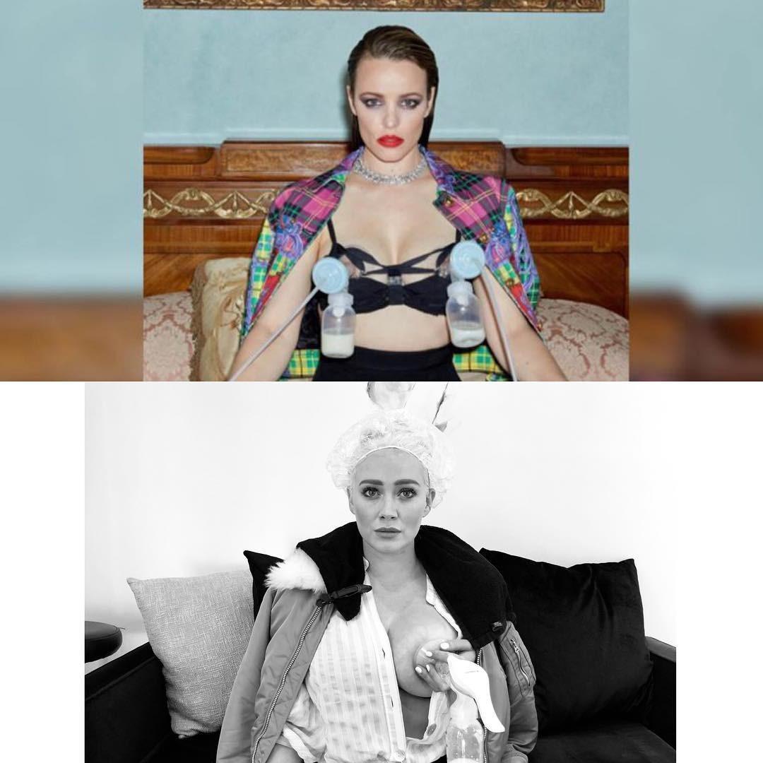 Montagem compartilhada por Hilary Duff (Foto: Reprodução Instagram)