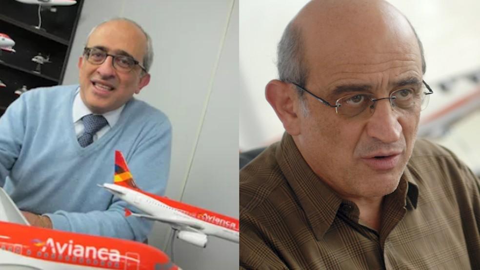 Empresários José (à esquerda) e German Efromovich foram denunciados pelo MPF — Foto: Darlan Alvarenga/G1 e Niels Andreas/Agência Estado