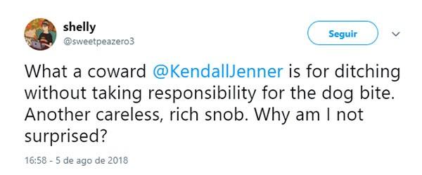 Kendal Jenner (Foto: Twitter)