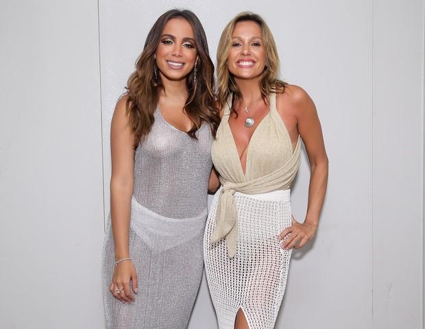 Anitta e Luisa Mell (Foto: Manuela Scarpa e Iwi Onodera/Brazil News  )