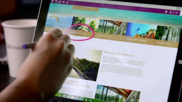 Project Spartan é o novo navegador na internet da Microsoft, criado para substituir o Internet Explorer no Windows 10. (Foto: Divulgação/Microsoft)