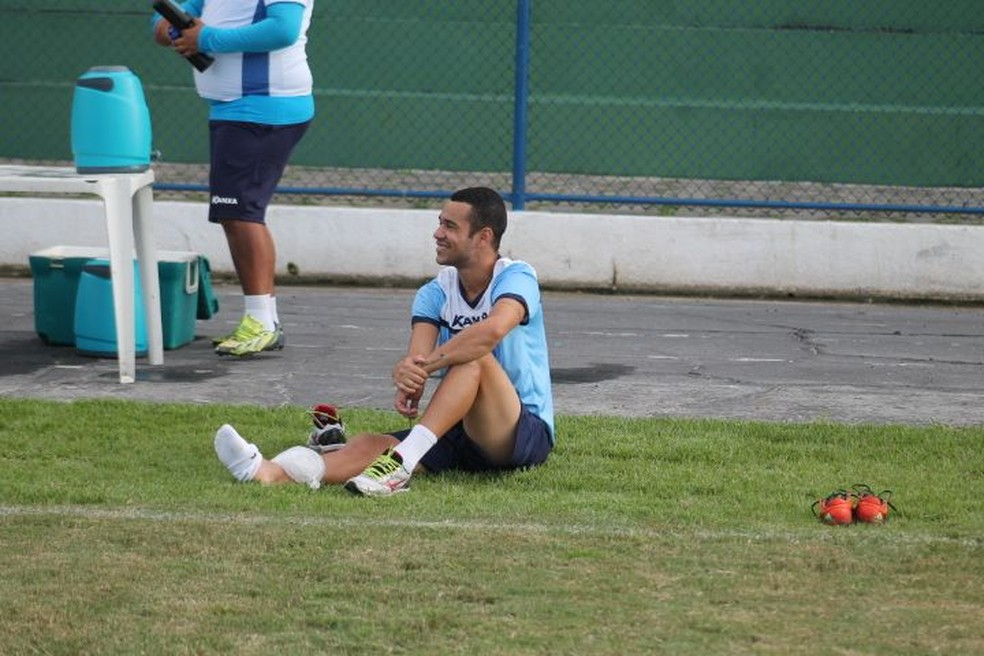 Sem espaço, Toninho Bahia é liberado pelo Parnahyba (Foto: Jorge Alves/Parnahyba SC)