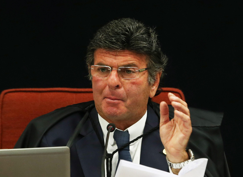 O ministro do STF, Luiz Fux