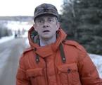 Martin Freeman em 'Eating the blame', episódio de 'Fargo'   Reprodução da internet