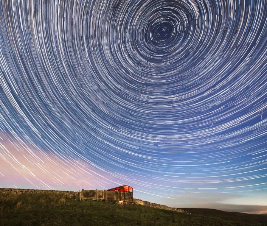 Chuva de meteoros no céu da Inglaterra
