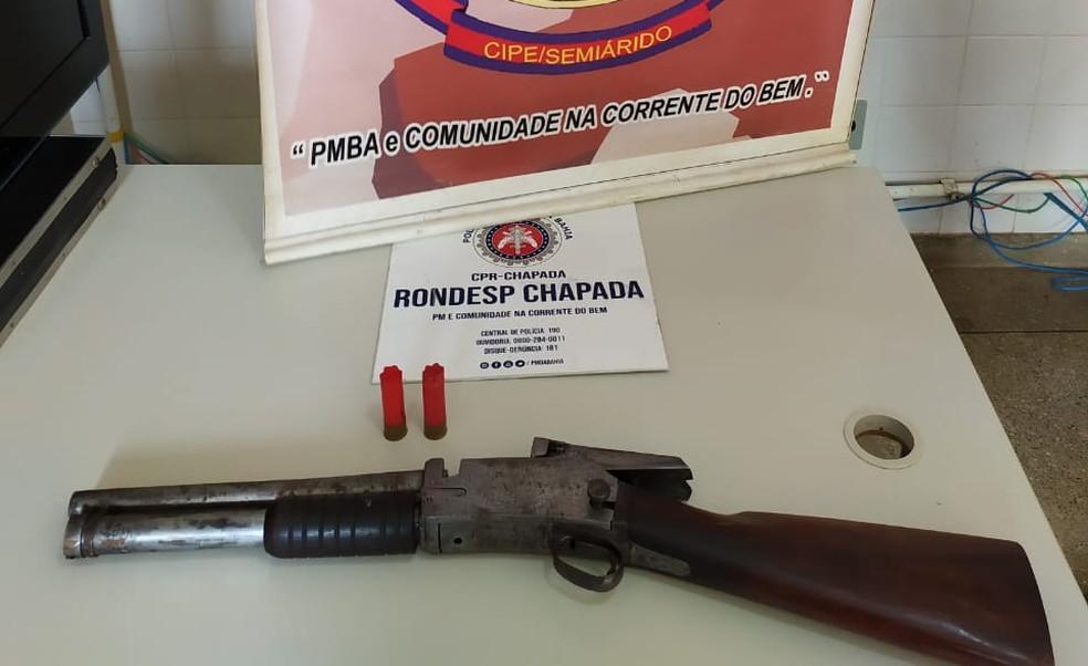 Quatro suspeitos de sequestro são presos na região da Chapada Diamantina, na BA — Foto: Secretaria de Segurança Pública da Bahia/Divulgação